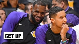 The Lakers won't dump Kyle Kuzma to create cap space for another max player – Woj | Get Up