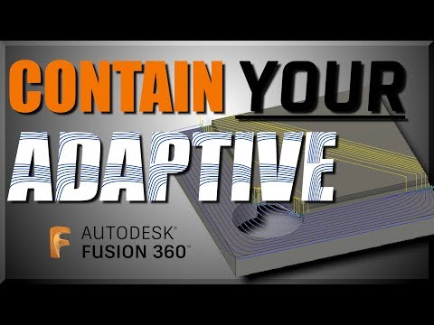 Fusion 360 CAM Tip: How to Contain 2D Adaptive Toolpaths   FF132