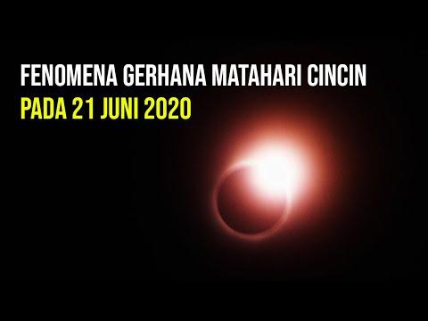 Gerhana Matahari Cincin Akan Lintasi Wilayah Indonesia pada 21 Juni 2020