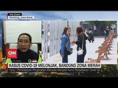 Kasus Covid-19 Melonjak, Bandung Zona Merah