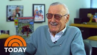 Stan Lee: Comic Book King Has A New Superhero Coming Out Soon   TODAY