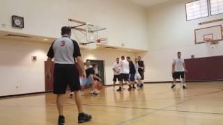 JRRC Men's Hoop Action - Game 1 April 3, 2017