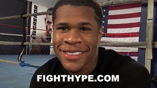 DEVIN HANEY KEEPS IT REAL ON DAZN & MATCHROOM DEAL; GETTING FIRST CRACK AT WBC STRAP VS. CAMPBELL