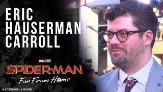 Executive Producer Eric Hauserman Carroll LIVE from the Spider-Man: Far From Home red carpet