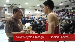 Alexxis Ayala Chicago Golden Gloves 2014