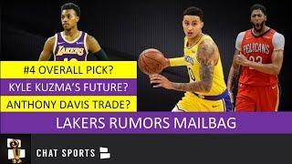 Lakers Rumors Mailbag: Anthony Davis Trade, Kyle Kuzma's Future, Darius Garland & Lakers 2019 Draft