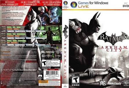 1cc1e8f54f2d0a01fafc8e0b78e18889 - Batman: Arkham City (2011/MULTI2/RePack by R.G Repacker's)