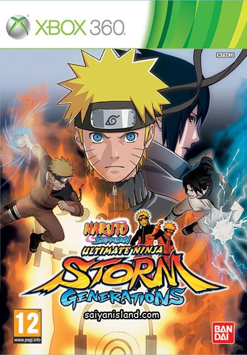 Naruto Shippuden: Ultimate Ninja Storm Generations (2012) PAL.XBOX360-SWAG