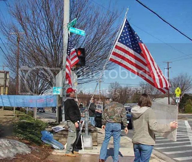 In Preparing For Imacman Holding Down The Olney Corner On March 17 With Help From Some Locals He Wanted To See How His Flag Would Be Put Up And How It