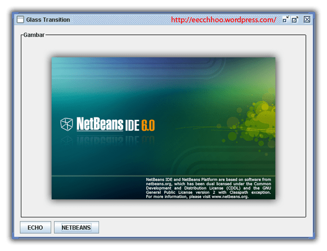 netbeans transition java