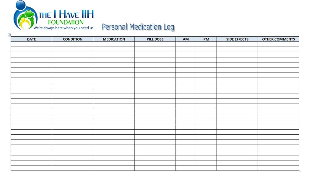 medication log sheet 5322667 png. printable medication log sheet ...