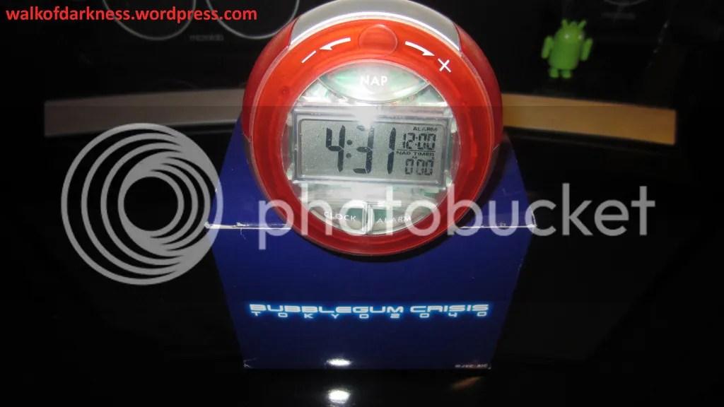 Bubblegum Crisis Tokyo 2040 Digital Alarm Clock