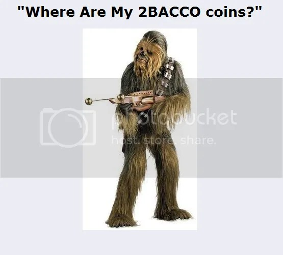 Where Are My 2BACCO Coins