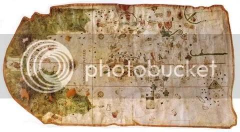 Planisphère de Juan de la Cosa (1500)