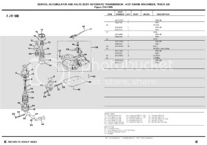 Exploded diagram of a 727 valve body  BJ's OffRoad Forums