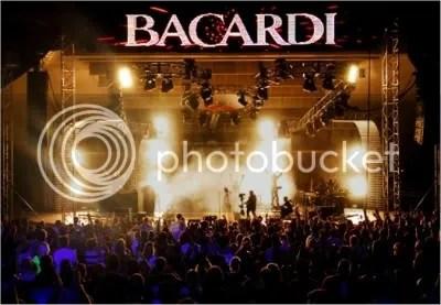 bacardi concert