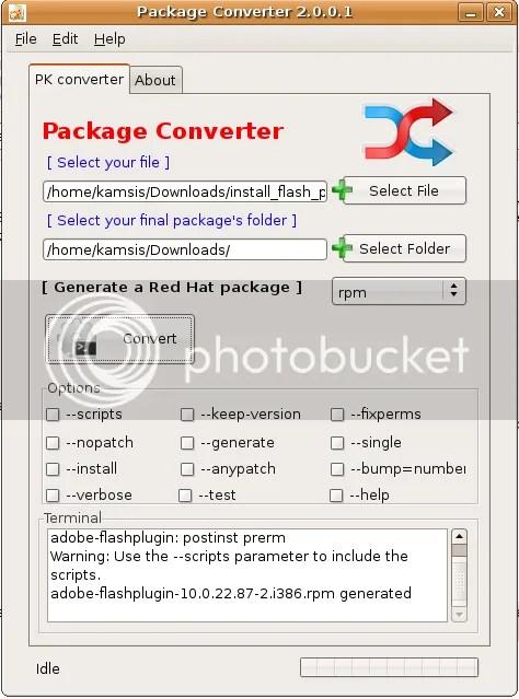package-converter