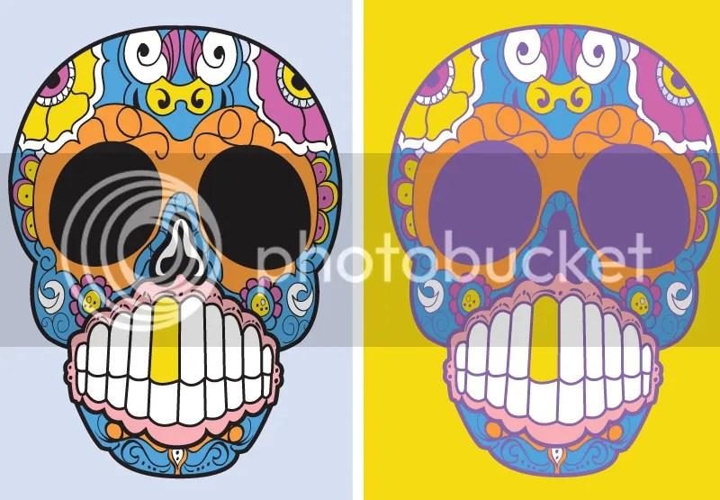 Day of the Dead, Sugar Skull, Vector, Illustrator