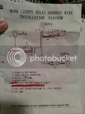Wiring light bar to high beam switch | 4x4Earth