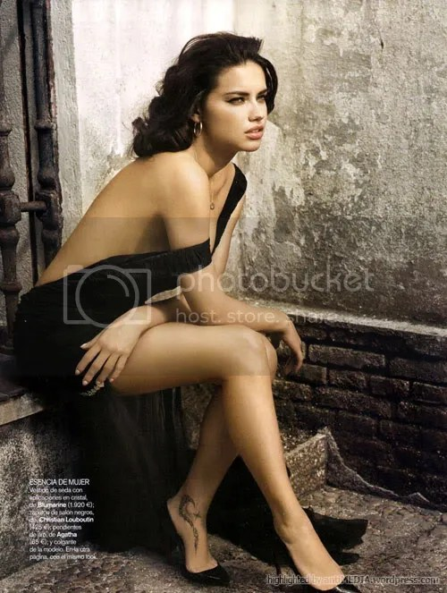 Adriana Lima - Sex Bomb - Vogue Espana June 2010