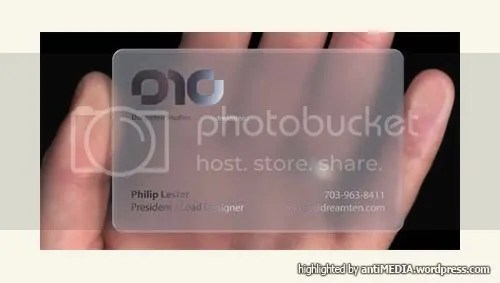 Creative Namecard