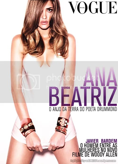 Ana Beatriz Barros on Vogue Brazil December