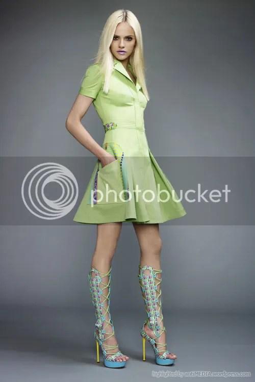Ginta Lapina - Versace