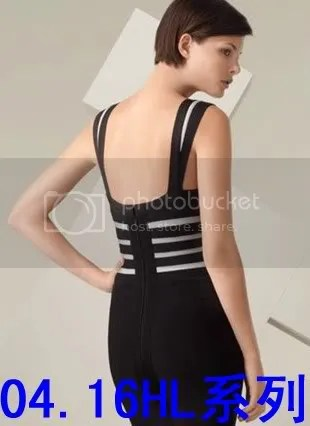 herve leger black bandage dress