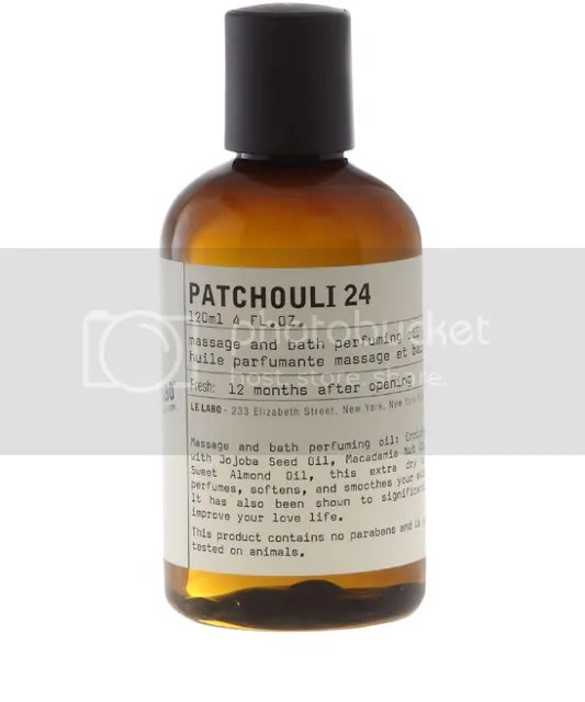 Le Labo Patchouli 24 oil.