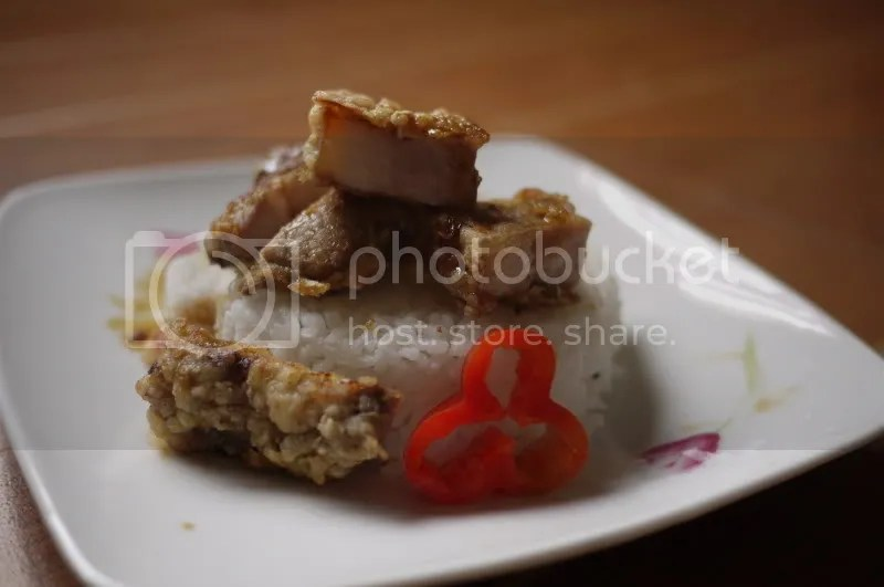Chinese-style Fried Pork (and about puff pastry) (2/6)