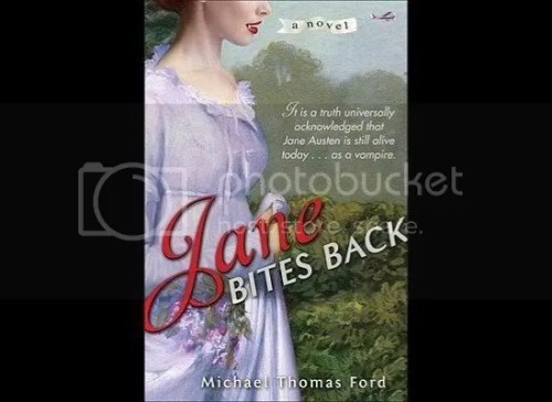 Jane Austen bites back, as a vampire apparently.