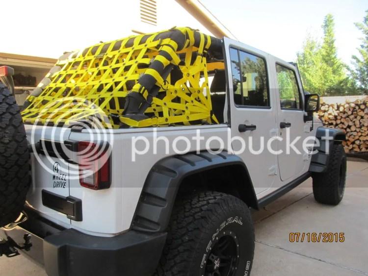 Dirty Dog Cargo Nets
