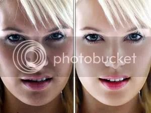 Whitening with Photoshop