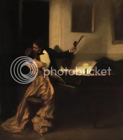 The Kreutzer Sonata by Rene Francois Xavier Prinet, 1901