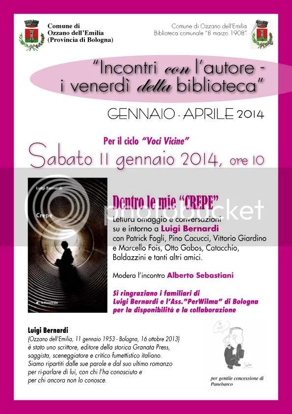 Luigi Bernardi - 11gennaio 2014 - Ozzano - Emilia