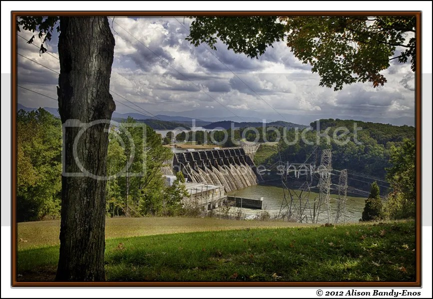 Douglas Dam from Overlook 1