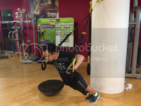 TRX fitness first