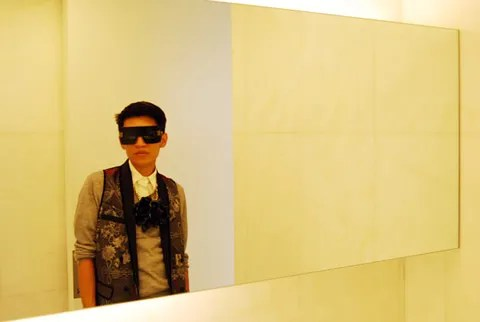 Bryanboy at D&G Showroom Milan