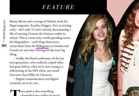H&M Magazine Autumn 2009