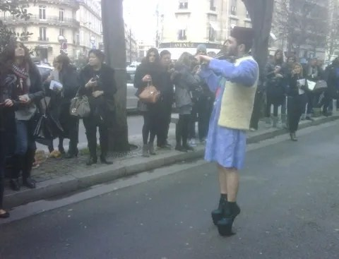 Igor Dewe in Paris