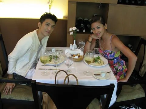 Bryanboy with Laura of DimePiece