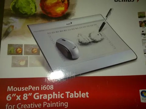 MousePen i608 Graphic Tablet for Creative Painting