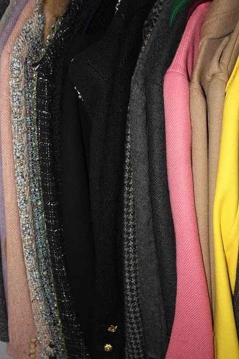 Anna Dello Russo's Jackets