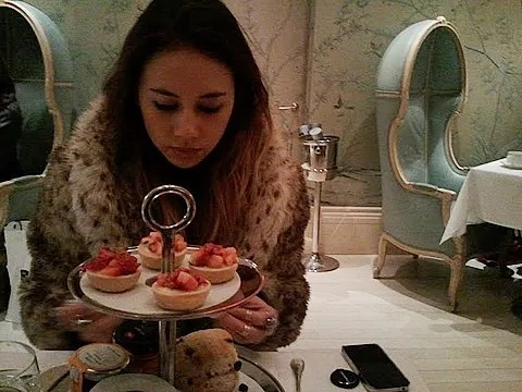 Rumi Neely Bergdorf Goodman Afternoon Tea