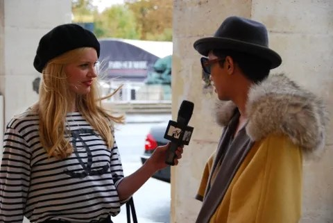 Bryanboy being interviewed by MTV Russia