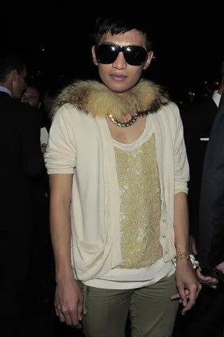 Bryanboy at Gucci Spring Summer 2011