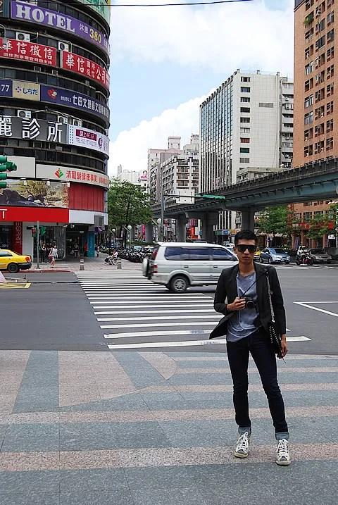 Bryanboy in Taipei