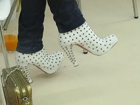 Coco Rocha's shoes