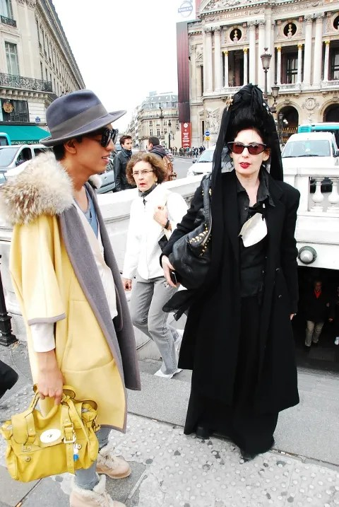 Diane Pernet and Bryanboy