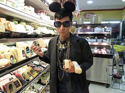 Bryanboy at Key Food